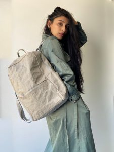 Vegan and sustainable backpack