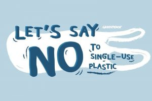 Lets say no to single use plastic